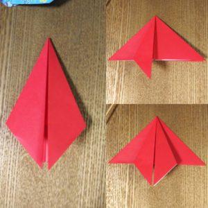折った折り紙