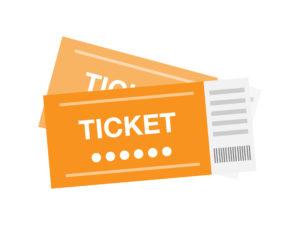 オレンジの2枚のチケット