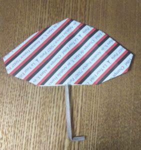 折り紙のカサ