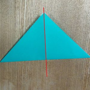 緑の折り紙