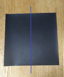 黒い折り紙