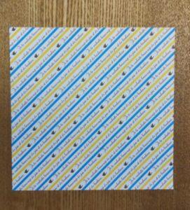 一枚の折り紙